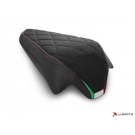 Housse passager Panigale V2 2020 Diamond Sport noir rouge