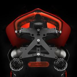 Support de plaque Rizoma Ducati Panigale V4 pour Termignoni® 2 sorties uniquement