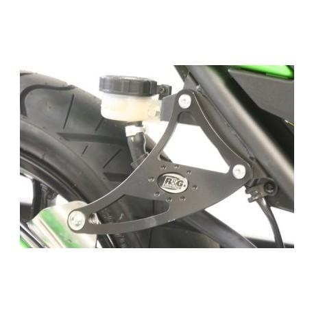 Supports de silencieux Kawasaki R & G Racing simple Ninja 250R