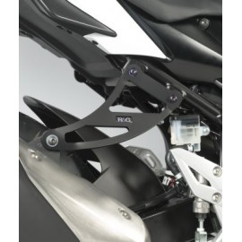 Supports de silencieux Suzuki R & G Racing simple GSR750 2011-2015
