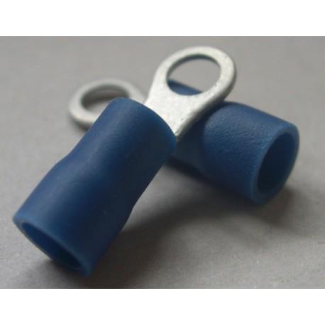 Cosses rondes diamètre 4 bleu