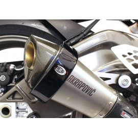 Protection de silencieux hexagonal R&G Racing sur Akrapovic 2