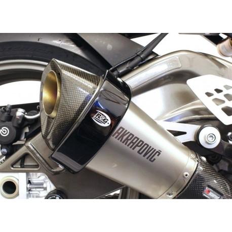 Protection de silencieux hexagonal R&G Racing sur Akrapovic 2
