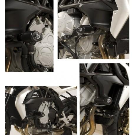 Tampons de protection MV Agusta R&G Racing Brutale 675 et 800
